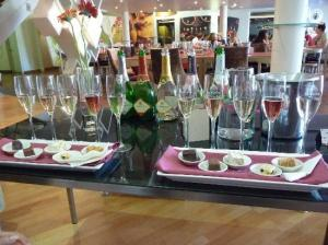 JC bubbly tasting