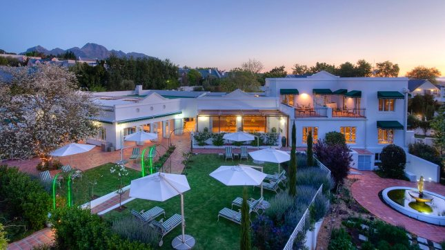 Luxury guesthouse Stellenbosch