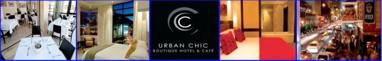 Urban Chic boutique hotel