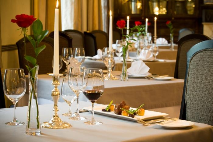 Grande Roche Hotel restaurant